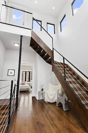 double height stair hall