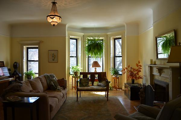 living area at upper duplex