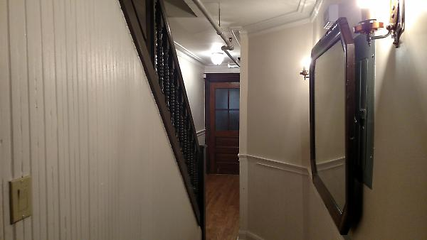 lower hallway detail