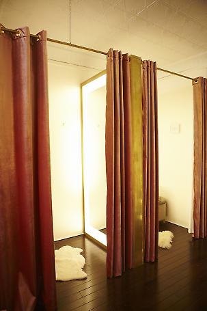 dressing areas