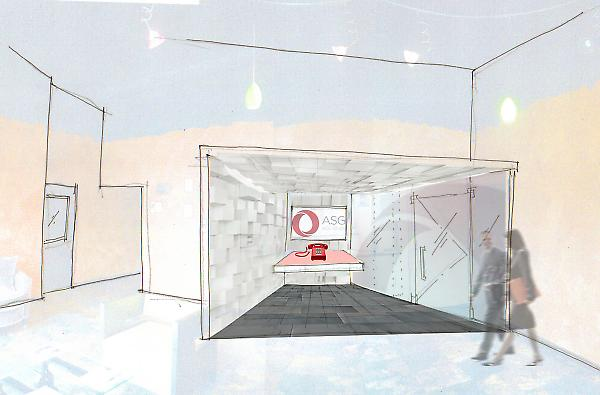 proposed lobby rendering