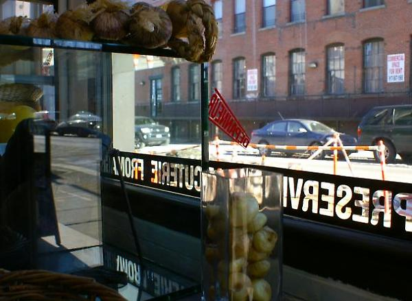 store window signage