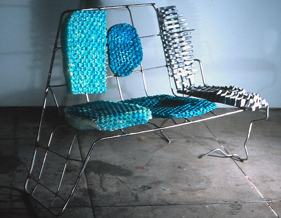 """three-seater"" aka ""blue chair"""