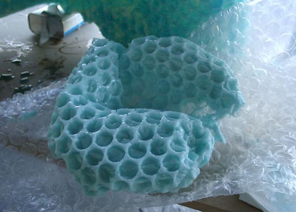 experiment in foam