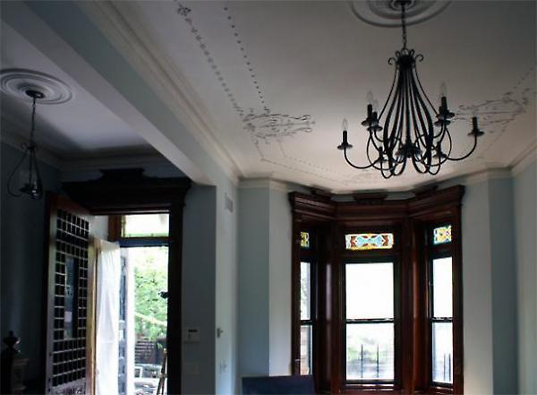 parlour floor detail