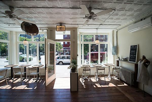 interior view facing Franklin Street