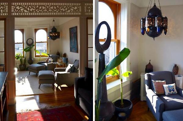 living room details