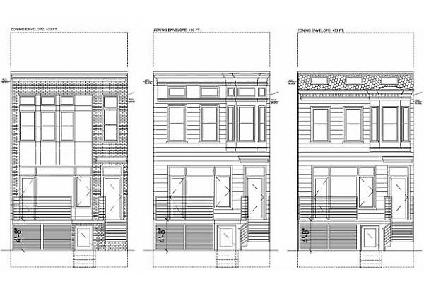 alternate designs for front facade