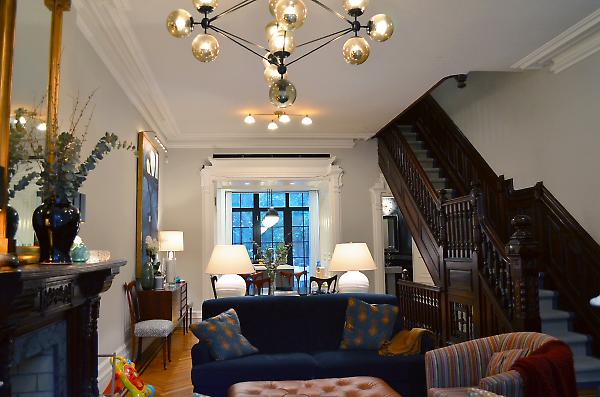 St john 39 s place brownstone conversion eric safyan for Floors and kitchens st john