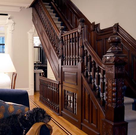 restored stair detail