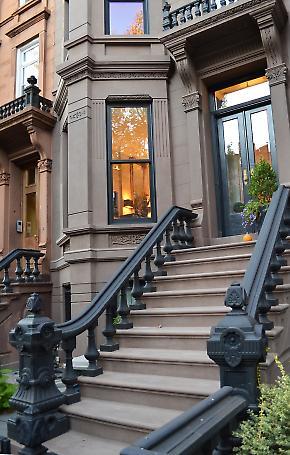 exterior stair restoration detail