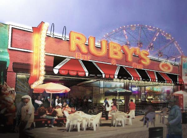 schematic rendering for Ruby's exterior